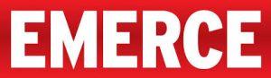 Logo Emerce bij artikel over het feit dat GoCredible zorgt voor financiële zekerheid in online handel tweedehands auto's.