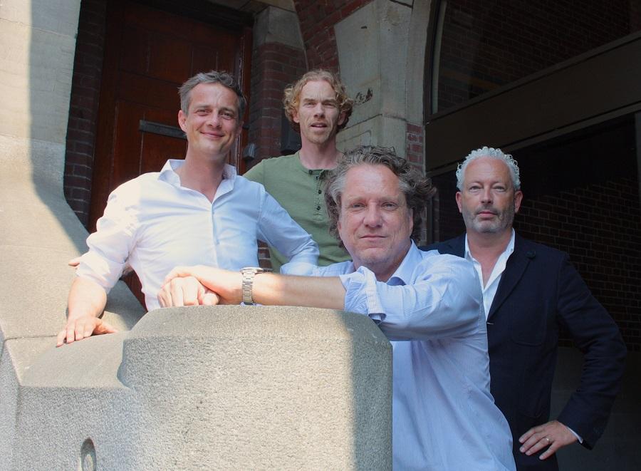 Sprout start-up van de week GoCredible met Teun Lammers, Tjerk Geersing, Jeannot-Bos en Wim Krechting.