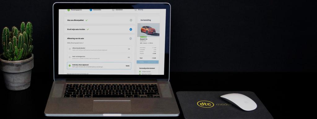 online verkoop module showroom
